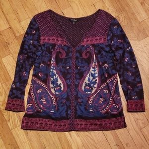 Lucky Brand 🌸peasant blouse